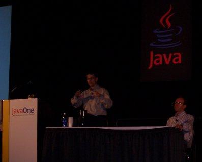Michael Maretzke talks on the JavaOne 2004